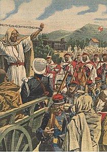 Une triple exécution en Algérie (1909) dans Afrique une-triple-execution-en-algerie-1909